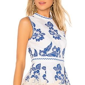 Alexis Farah Mini Lace Dress